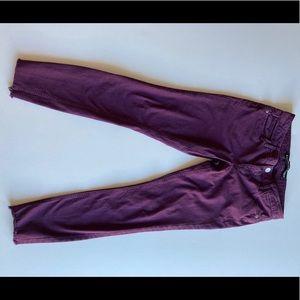 Express purple Stella legging size 6